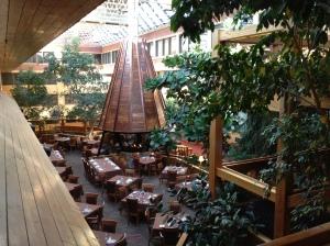 Atrium Area in Centre of Hotel