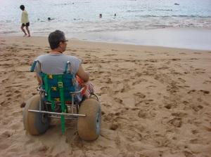 Beach Chair at the Sheraton