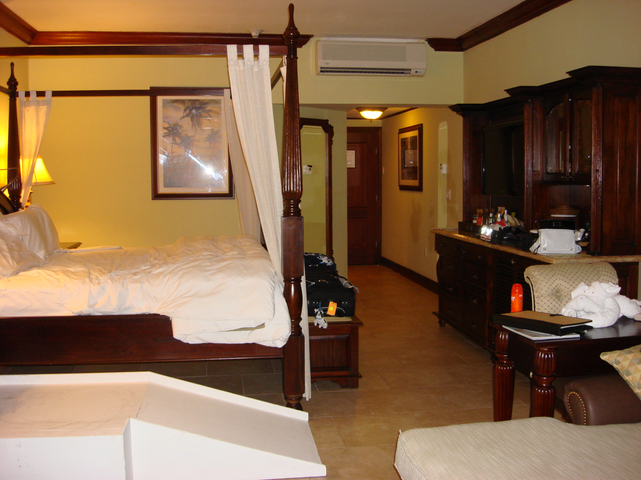 Interior Of Wheelchair Accessible Room