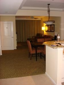 View of Living Area from the Door