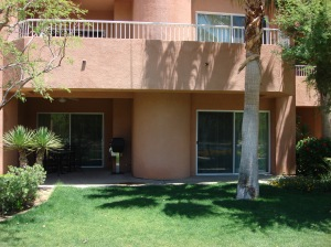 Outside View of our Main Floor Unit