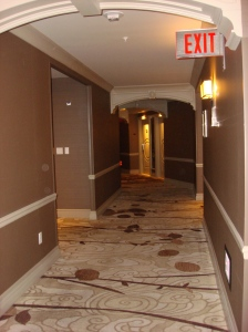 Nice, Wide Hallways