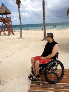 This is as Close as a Wheelchair Can Get to the Ocean