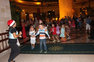 Mini Disco in the Lobby