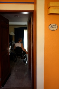 Wheelchair Accessible Room 203