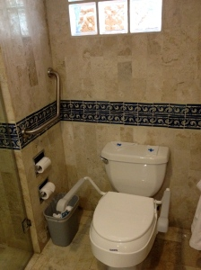 Toilet Seat with Armrests