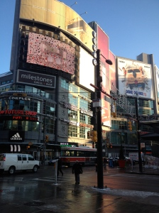 Downtown Toronto - Across the Street From the Eaton's Centre