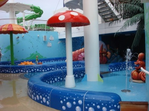 Kiddie Pool Area and Waterpark