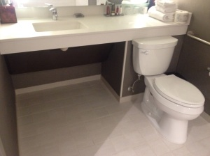Wheel-Under Sink With Good Clearance