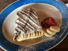Banana Nutella Crepe (amazing)