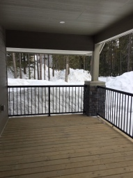 Deck of New Cabin
